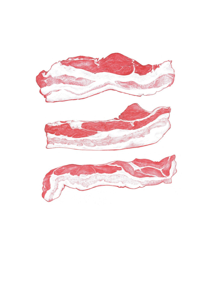 Bacon 3 stk.